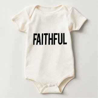 Faithful Baby Shirt (White)