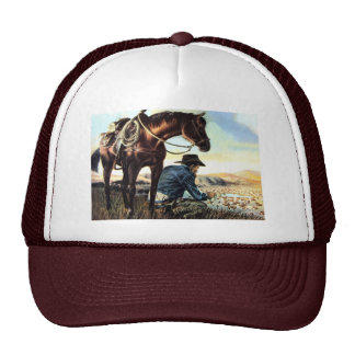 Faithful Cowboy Trucker Hat