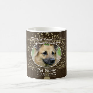 Faithful Friend Dog Sympathy Coffee Mug