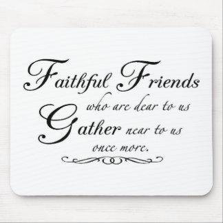Faithful Friends 1 Mouse Pad