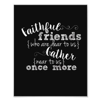 Faithful Friends 8x10 print