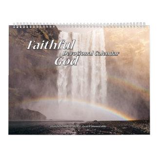 Faithful God Devotional Calendar two page
