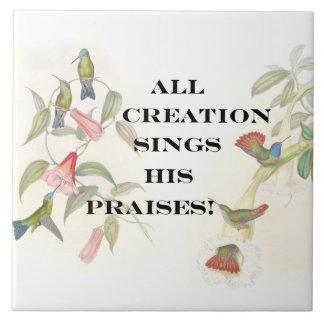 Faithful God Jesus Christian Believer Christ Tile