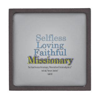 Faithful Missionary Jewelry Box