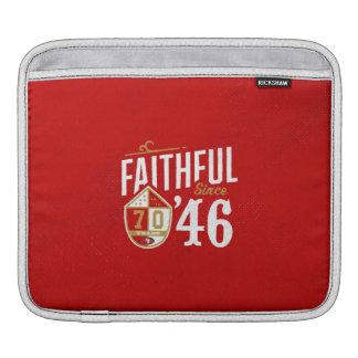 Faithful since '46 laptop sleeve photo