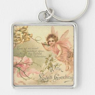 Faithful Valentine Flower Fairies Keychain
