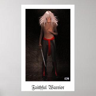Faithful Warrior Poster