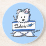 FAITHful Westie Dog Coaster