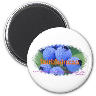 Faithfulness 2 Inch Round Magnet