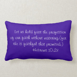 Faithfulness Lumbar Pillow