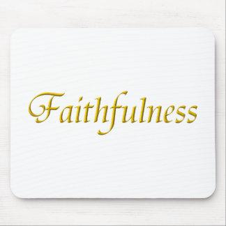 Faithfulness Mouse Pad