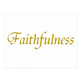 Faithfulness Postcard