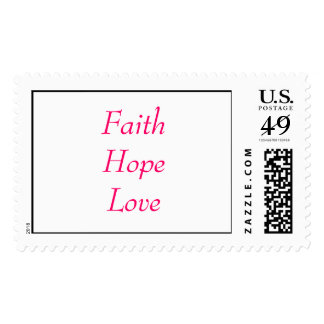 FaithHopeLove Sellos Postales