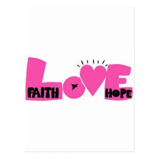 FAITHHOPELOVE POSTALES