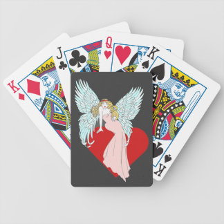 Faithless Angel Bicycle Playing Cards