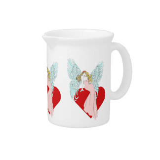 Faithless Angel Drink Pitcher