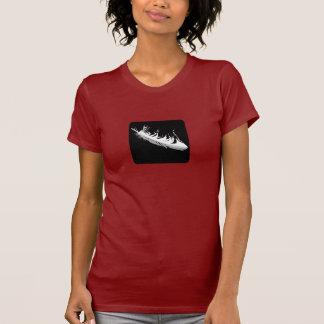 Faithless Dark Ladies Tee Shirt