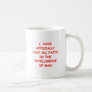 faithless classic white coffee mug