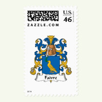 Faivre Family Crest Stamps