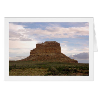 Fajada Butte greeting card