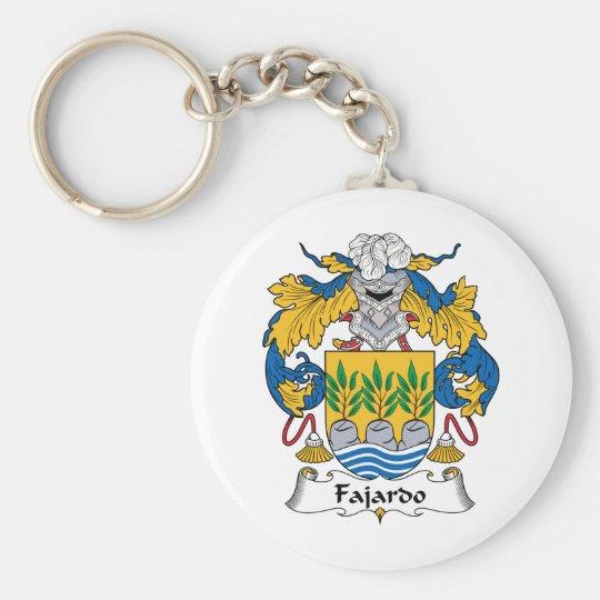 Fajardo Family Crest Keychain