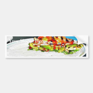 Fajitas Chicken Food Cooking Bell Peppers Onions T Bumper Stickers