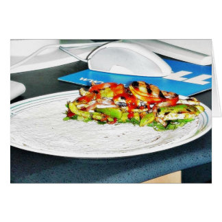 Fajitas Chicken Food Cooking Bell Peppers Onions T Cards