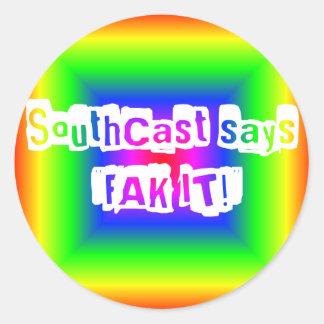 FAK IT Rainbow Sticker