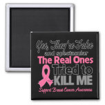 Fake and Spectacular - Breast Cancer Magnet