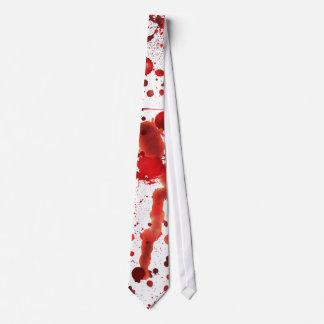 Fake Blood Splatters Tie