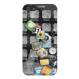 Fake Broken iphone 4 Left Handed Cover For iPhone SE/5/5s