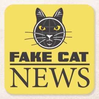Fake Cat News Coasters