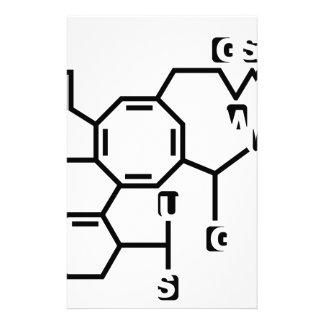Fake chemical formula stationery