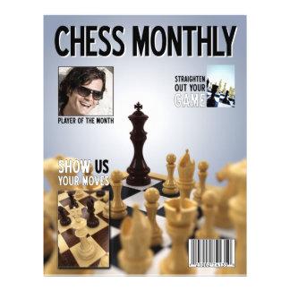 Fake Chess Magazine cover - Flyer
