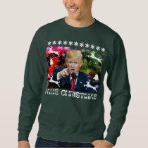 Fake Christmas Donald Trump Ugly Christmas Sweater