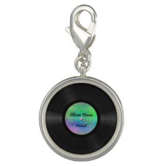 Fake Custom Vinyl Record Charms