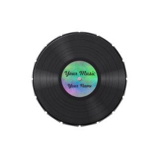 Fake Custom Vinyl Record Jelly Belly Candy Tin