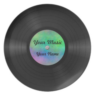 Fake Custom Vinyl Record Plate