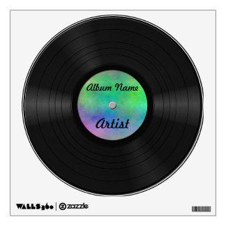 Fake Custom Vinyl Record Wall Sticker