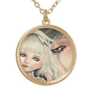 Fake Doll Sad Necklace