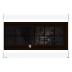 fake door ghost halloween haunted house prop 6 ft wall sticker