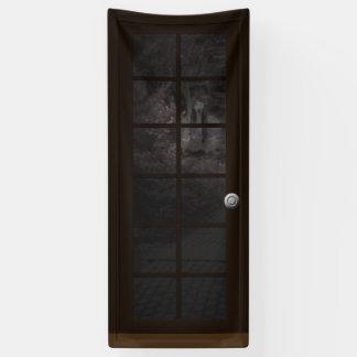 Fake Door Ghost Halloween Haunted House Prop Banner
