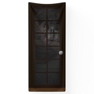 Halloween Themed Fake Door Ghost Halloween Haunted House Prop Banner