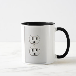 Fake Electrical Outlet Mug