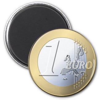 Fake Euro magnet