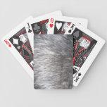Fake Fur Deck Of Cards
