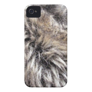 Fake Fur Texture iPhone 4 Case-Mate Case