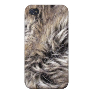 Fake Fur Texture Covers For iPhone 4
