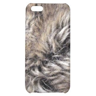 Fake Fur Texture iPhone 5C Cover