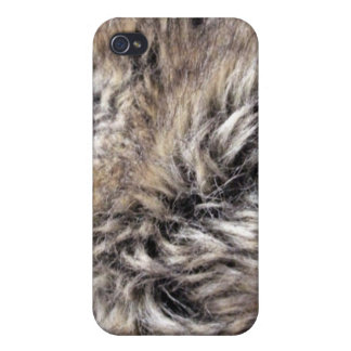Fake Fur Texture iPhone 4 Cover